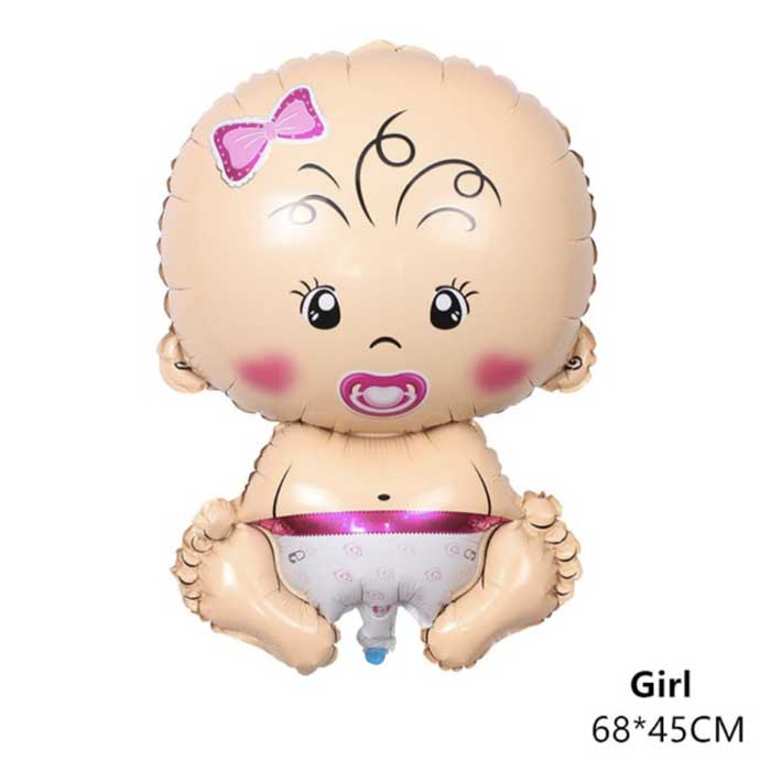 Baby GIRL Balloon (doesn't fly)