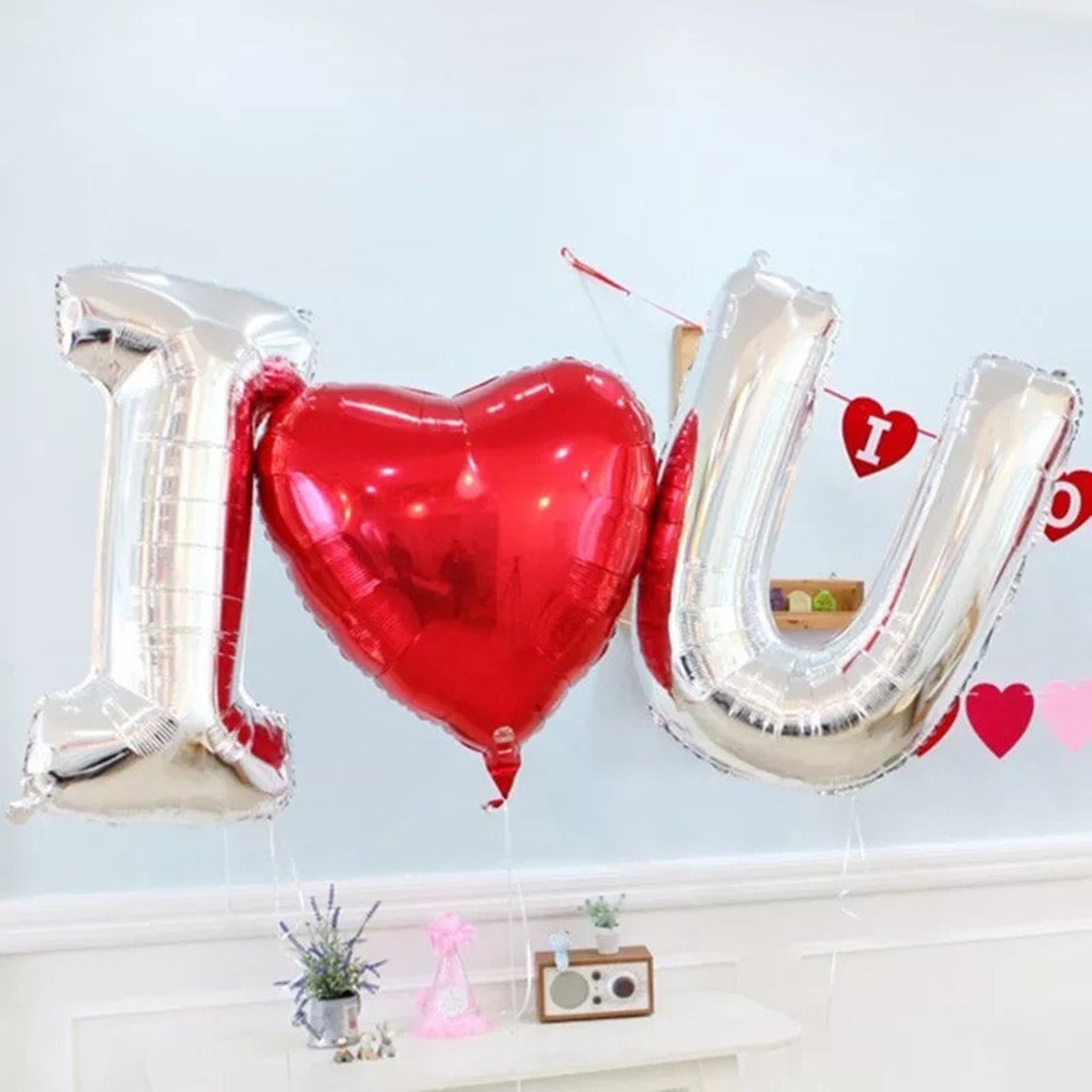 I Love You Balloon (doesn't fly)